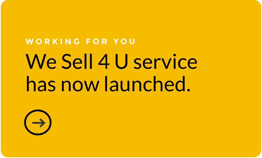 Our new We Sell 4U service has launched.